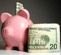 High efficency is like having a piggy bank that the utility keeps refilling every single month.